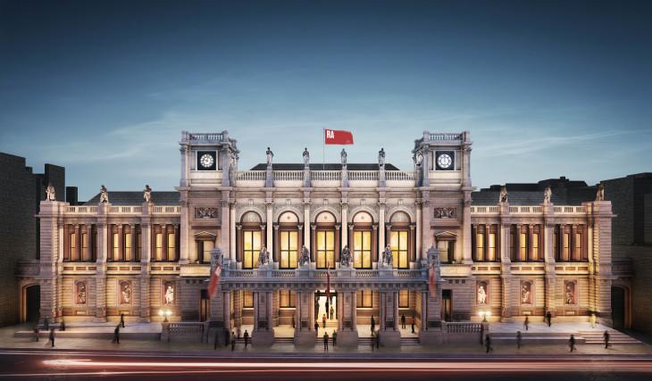 1. The Royal AcademyGÇÖs north-facing entrance, Burlington Gardens - Copy.jpg