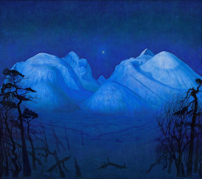 1 Winter Night in the Mountains.jpg