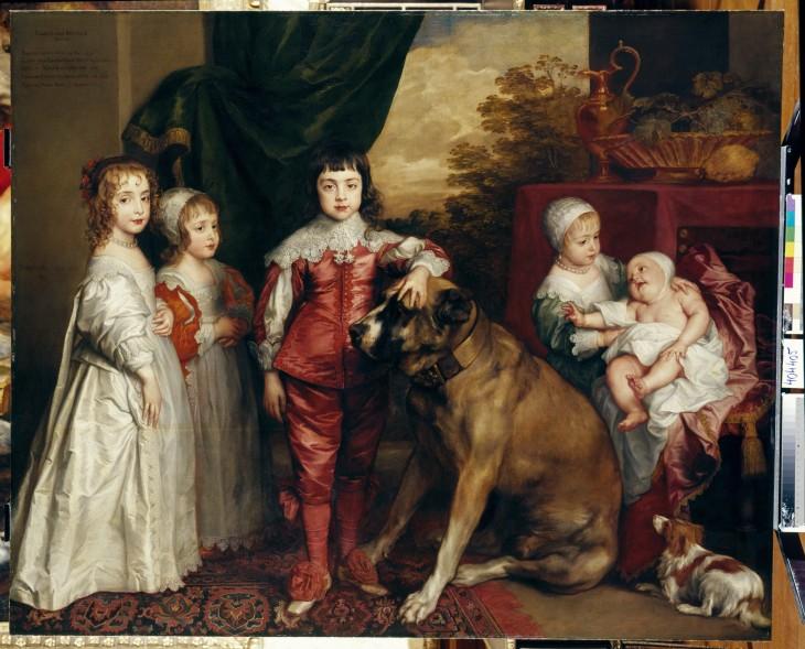 3 Sir Anthony van Dyck, The Five Eldest Children of Charles Royal Collection Trust© Her Majesty Queen Elizabeth II 2018.jpg
