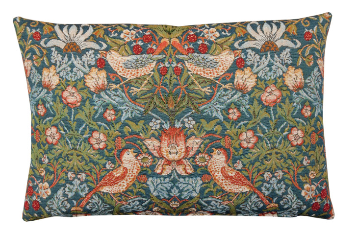 Pic 10 Strawberry Thief Tapestry cushion ©National Trust Shop.jpg