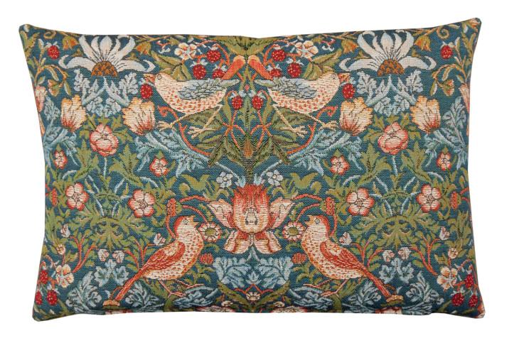 Strawberry Thief Tapestry cushion ©National Trust Shop.jpg