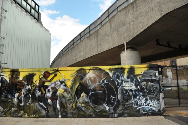 5 Graffiti hoardiing commisisoned for Shoreditch site by Exclusive Residential group.JPG